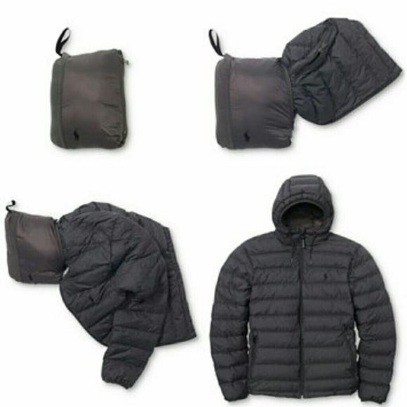 af2f1e58da36 Ralph Lauren mens packable down jacket large
